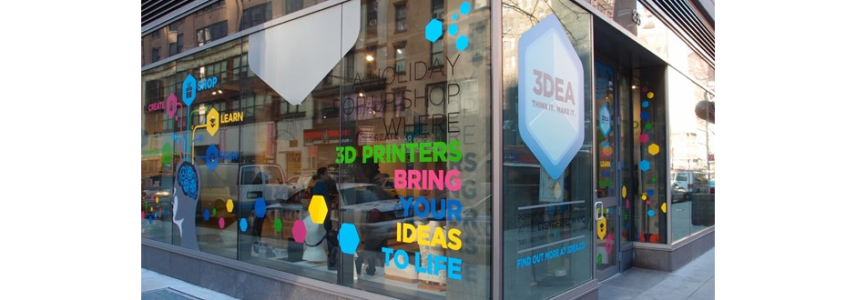 New York: Eröffnung 3D-Print Shop