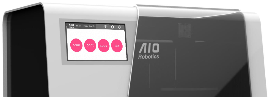 Aio Robotics All In One 3d Drucker 3d Scanner 3d Kopierer Und Fax