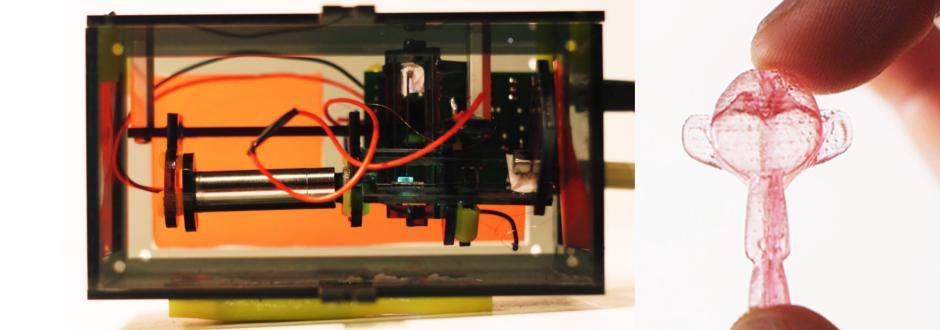 Peachy Printer: ein Haus aus einem 100 US-$ 3D Drucker