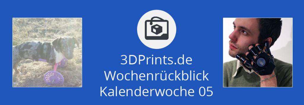 Rückblick 05 – Dackel Bubbles erhält eine 3D-gedruckte Gehhilfe