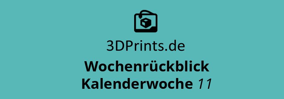 Wochenrückblick KW 11 – Drohnen aus dem 3D-Drucker, be3D DeeGreen