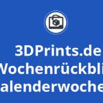 Wochenrückblick KW 17 - Medikamente aus 3D-Druckern, 3D-gedruckte Gesichtsmasken