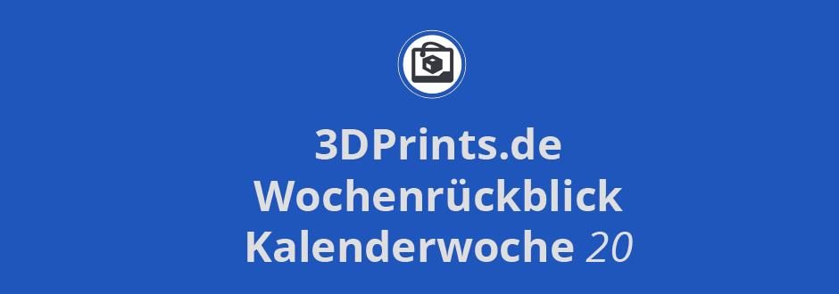 Wochenrückblick KW 20 – Autodesk: Open Source Software Spark und 3D-Drucker, Apple und Google arbeiten an 3D-Drucker