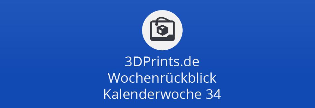 Wochenrückblick KW 34 – Fleks3D, Barillas Traum-Pasta-Contest