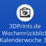 Wochenrückblick KW 34 - Fleks3D, Barillas Traum-Pasta-Contest