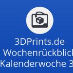 Wochenrückblick KW 38 - 3D-Drucker im Nanobereich, mobiler Robotor-3D-Drucker