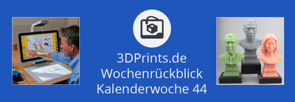 Wochenrückblick KW 44 – HPs Sprung in den 3D-Drucker-Markt