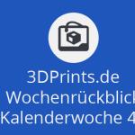 Wochenrückblick KW 46 - mehrfarbiger 3D-Druck aus einem Single-Extruder