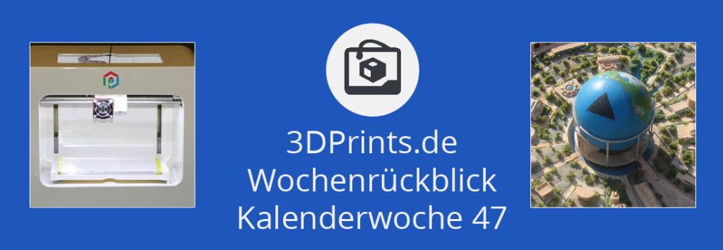 Rückblick 47 – 3D-gedruckte Leber kommerziell verfügbar