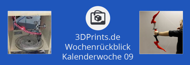 Rückblick 09 – 2 US-$ teurer 3D-Drucker für Metall